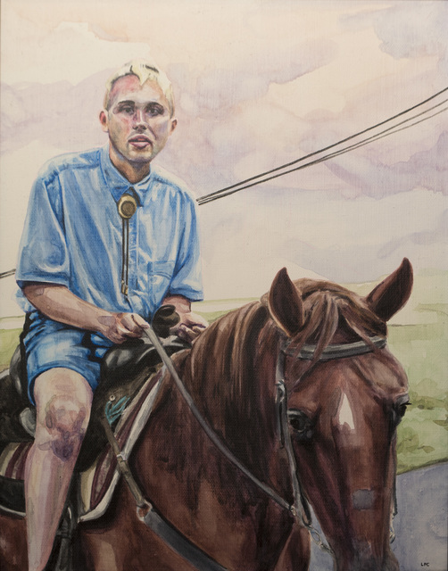 , 'Randy Caldwell,' 2018, The Southern