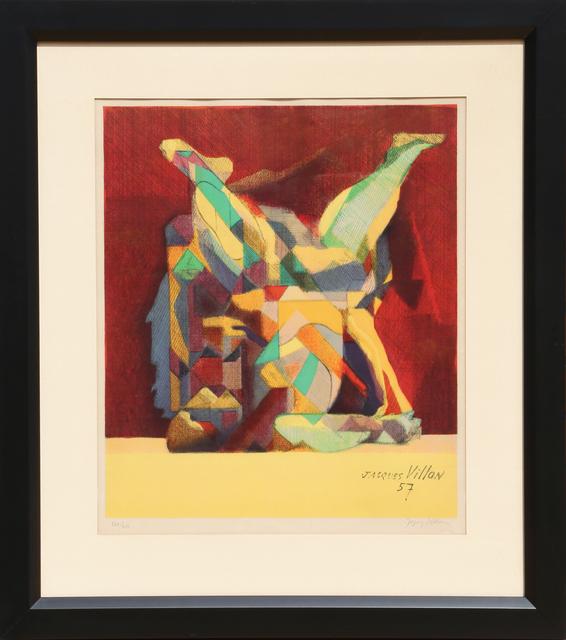 Jacques Villon, 'La Lutte (The Fight)', 1957, Print, Lithograph, RoGallery