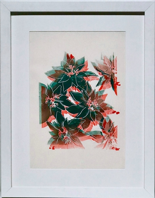 Andy Warhol, 'Poinsettias', 1985, Robert Fontaine Gallery
