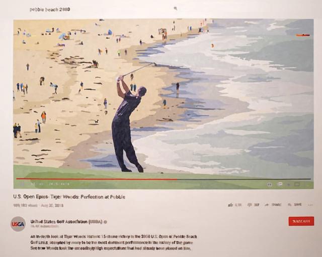 , 'Perfection at Pebble Beach,' 2020, Axiom Contemporary