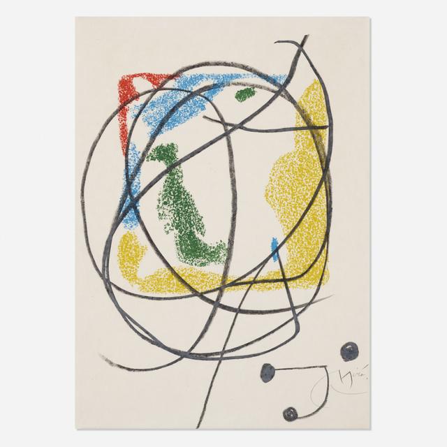 Joan Miró, 'Les Essencies de la Terra (one plate)', 1968, Wright