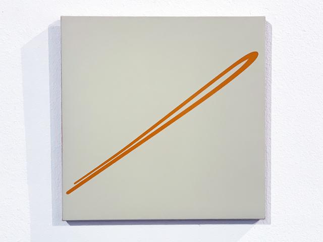 Volker Leonhardt, 'Futuristic Landscape (Orange)', 2002, Painting, Oil on Canvas, iMuseum Vegas