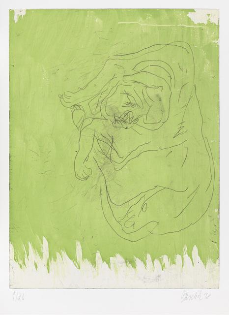 """Georg Baselitz, 'Massimo, from """"Schlafende Hunde""""', 1998-1999, Gagosian"""