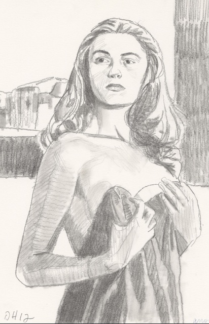Duncan Hannah, 'Anouk', 2012, Galerie Pixi - Marie Victoire Poliakoff
