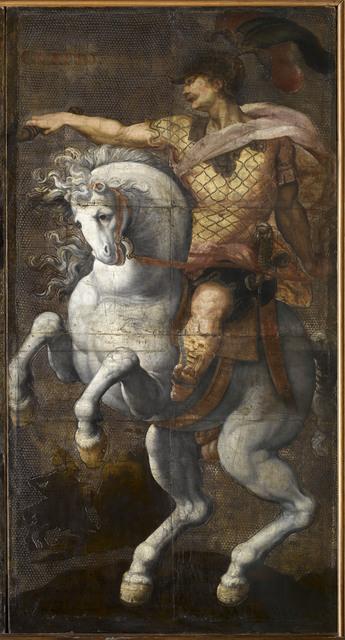 'Marcus Curtius', last quarter of the 16th century, Musée national de la Renaissance