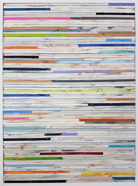, 'Lathe Painting #8,' 2018, Cerbera Gallery