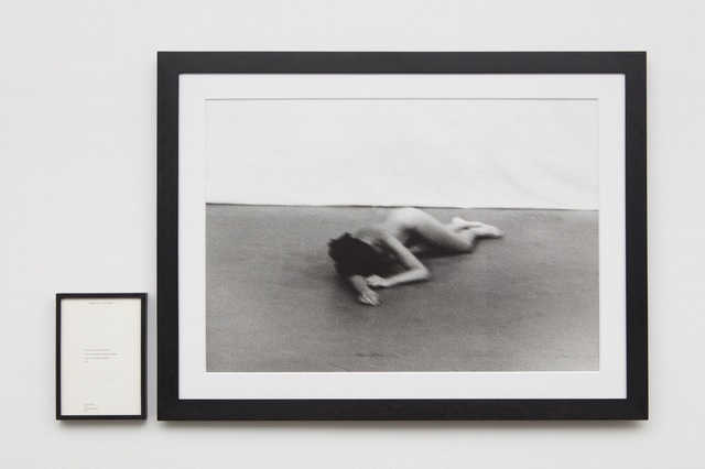 , 'Freeing the Body,'  1975;  publ. 1994, Sean Kelly Gallery