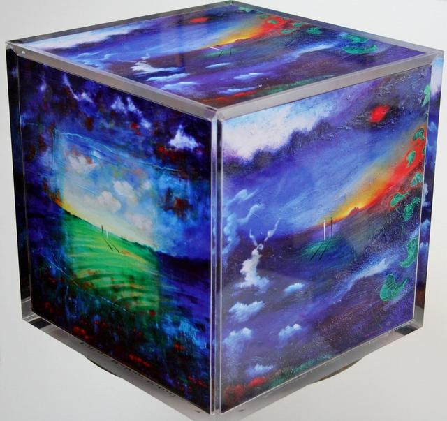 , 'Blue Window,' , Ashok Jain Gallery