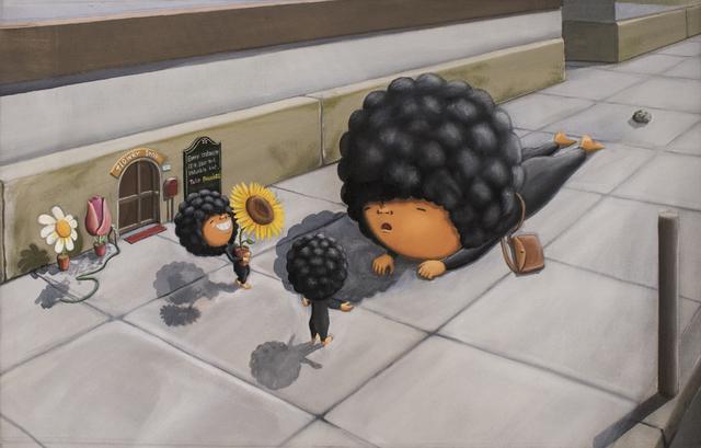 Shiro Utafusa, 'The Little Florist Town', Art WeMe Contemporary Gallery