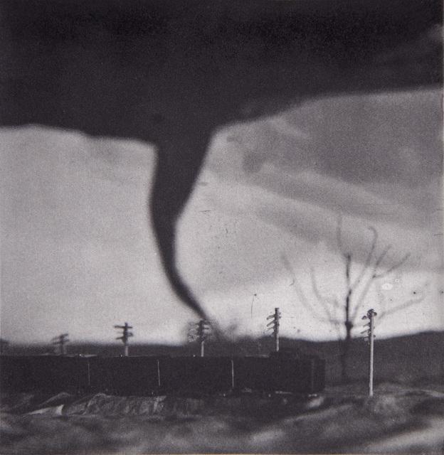 , 'Tornado chasing Train,' 2018, Lesley Heller Gallery
