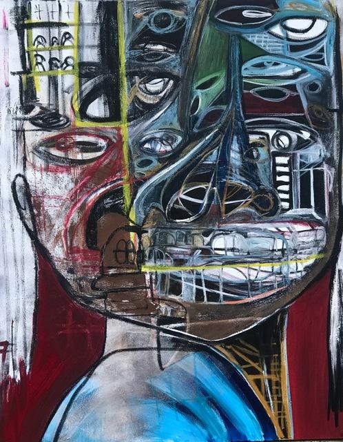 , 'Black Missionary,' 2019, Richard Beavers Gallery