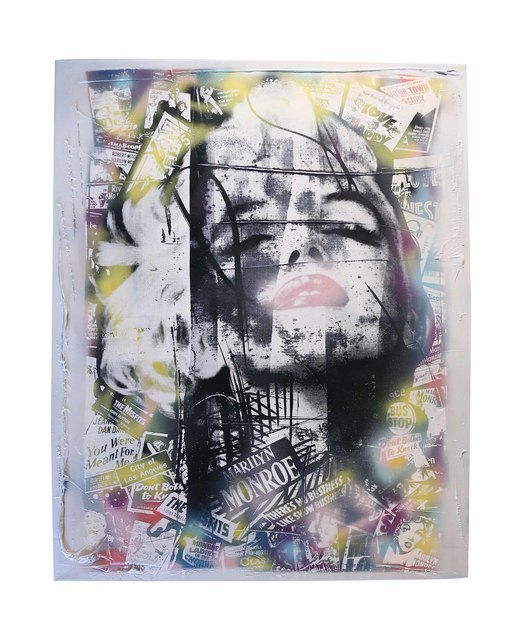 , 'Marilyn Monroe ,' 2015, The McLoughlin Gallery
