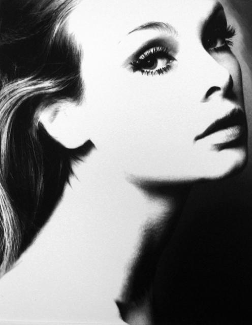 Lillian Bassman, 'Jean Shrimpton', 1955, Photography, Gelatin silver print, Peter Fetterman Gallery