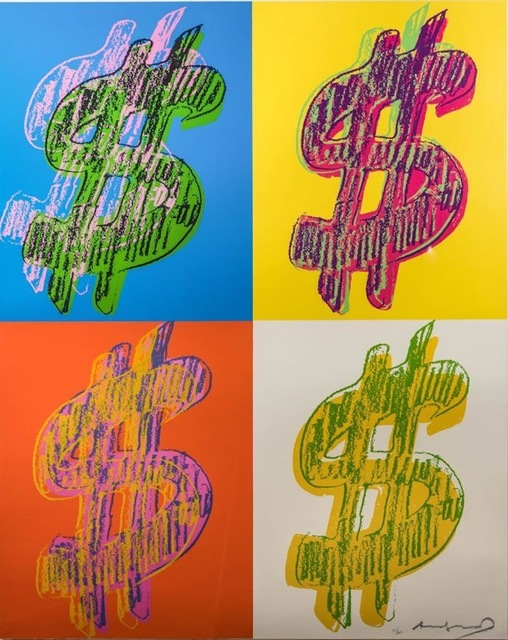 , '$ Quad FS II.284,' 1984, Gregg Shienbaum Fine Art