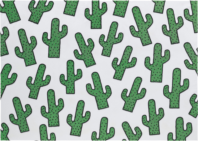 Philip Colbert, 'Cactus Infinity', 2016, Mixed Media, Sequins and bead embroidery on canvas, Phillips