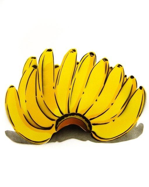 Bananensprayer Thomas Baumgärtel, 'Bananenhand', 2004, Galerie Kronsbein