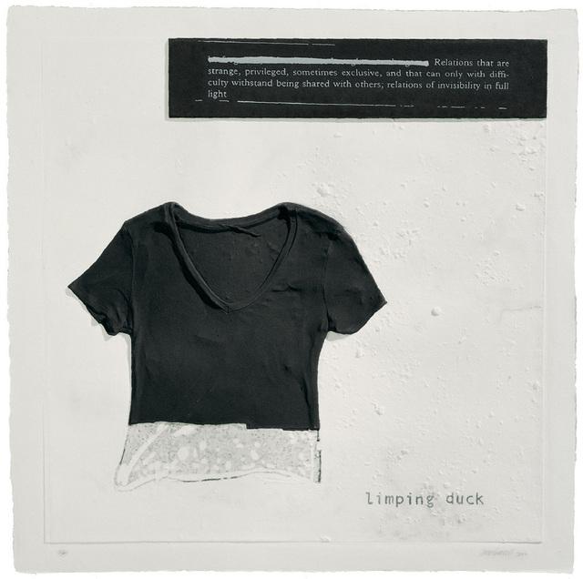 , 'Limping Duck,' 2007, Mixografia