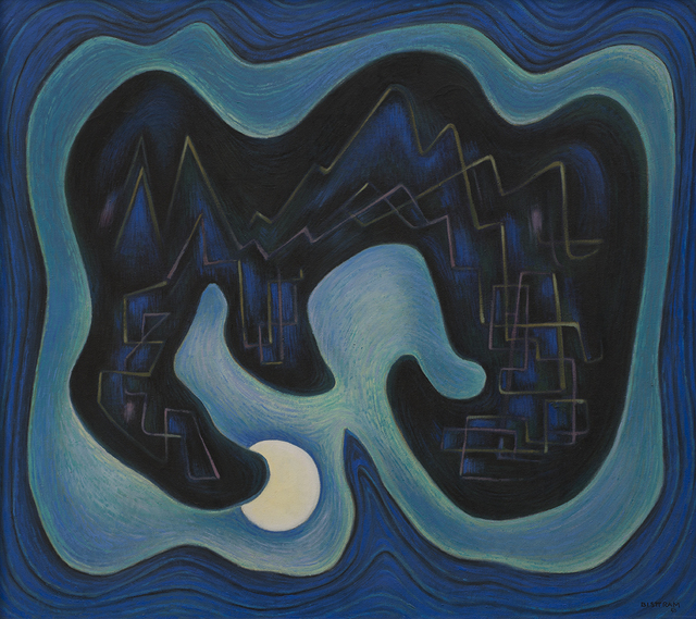 Emil Bisttram, 'Moon Magic', 1950, Aaron Payne Fine Art
