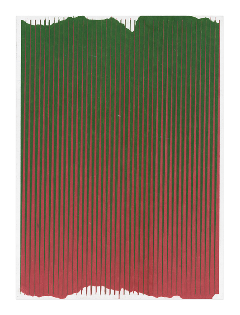 , 'Lonely Planet (Forest Green / Mahogany Red),' 2016-2017, Gavlak