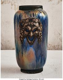 Bacchanal Mask Vase