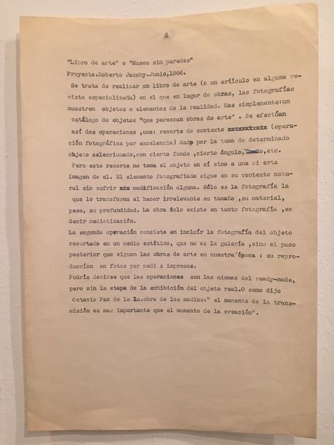 ", '""Libro de Arte"" o ""Museu sin parede"",' 1966, Baró Galeria"
