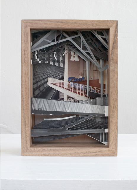 , 'Kirchliche Bauten, Friedhöfe,' 2016, Raum mit Licht