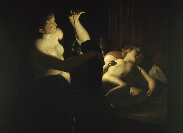 , 'Cupid and Psyche,' 1638-1642, Museo Soumaya