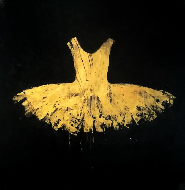 , 'Golden Opera Dress,' 2018, Galleria Ca' d'Oro
