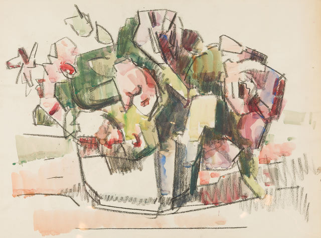 , 'Roses in a Bowl,' ca. 1960, Childs Gallery