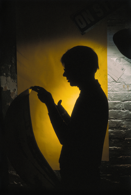 Hervé GLOAGUEN, 'Andy WARHOL at the Factory, NY 1966', 1966, Photography, C-print, Galerie Arcturus