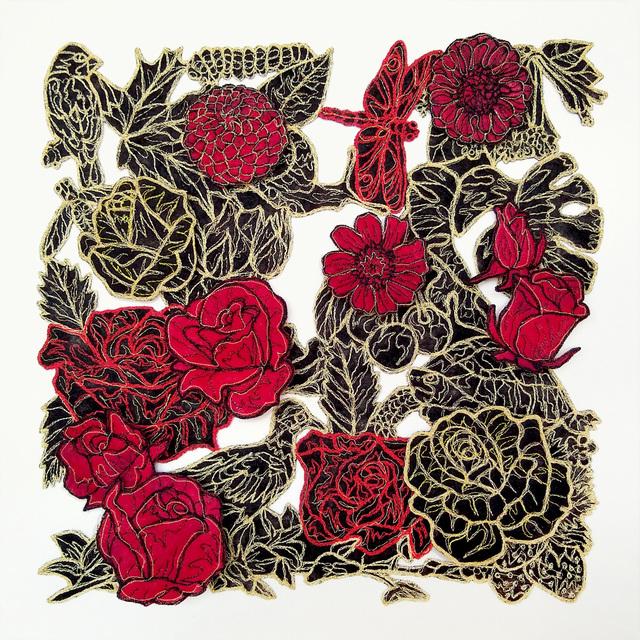 Rachelle Gardner-Roe, 'Memory Stratum No 2A Turtle Got Into the Strawberries Again', 2018, Cerbera Gallery