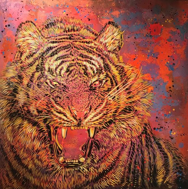 C215, 'Tiger', 2017, Mazel Galerie