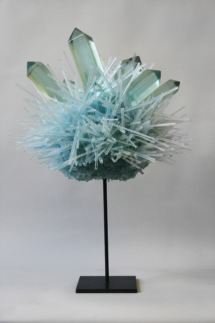 , 'Blue Green Crystal Pom ,' 2013, Stanek Gallery