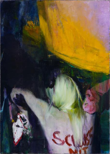 , 'Schluss,' 2014, Parafin