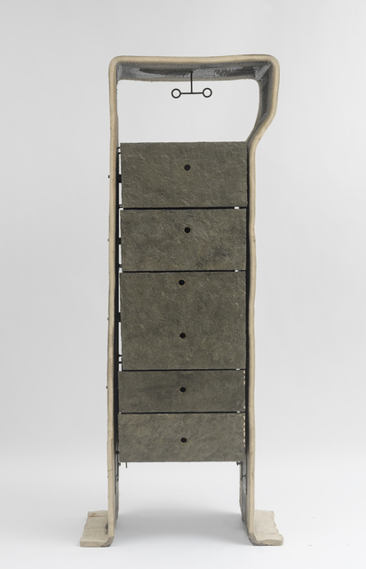 , 'Felt Cabinet with Drawers,' 1987-1991, Friedman Benda