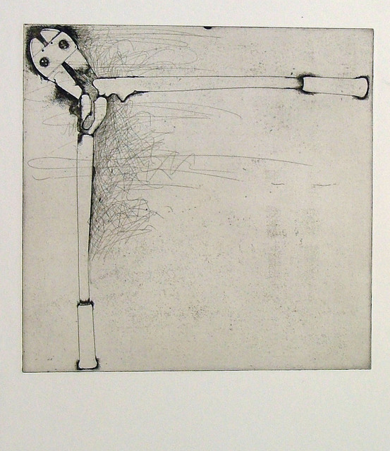 Jim Dine, 'Bolt Cutters (first state)', 1972, Cristea Roberts Gallery