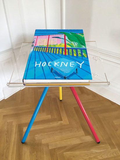 David Hockney, 'Book with stand by Marc Newson', 2016, Galerie Maximillian