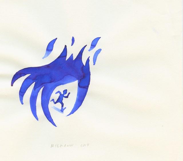 , 'Crime Fire,' , Bluerider ART