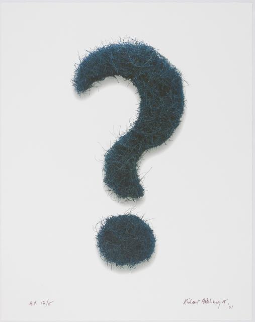 , 'Question Mark,' 2001, Gagosian