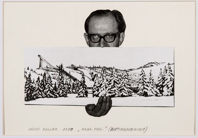 , 'Untitled (Artist with Landscape),' 1970, The Mayor Gallery