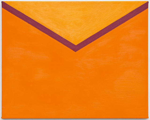 ", '""Tangerine and Clementine Envelope"",' 2018, Serving The People"