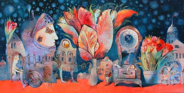 Anna Silivonchik, 'A Night in May', 2017, Think + Feel Contemporary