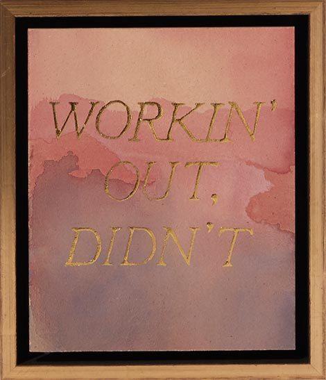 Ben Skinner, 'Workin' Out, Didn't', 2017, Uprise Art