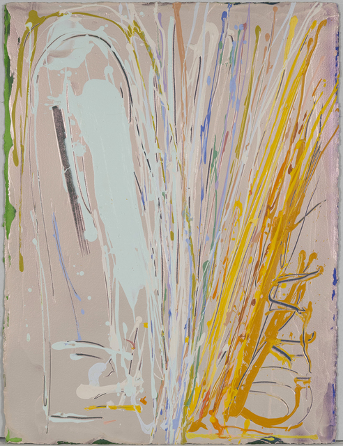Dan Christensen, 'Spark', 1983, Drawing, Collage or other Work on Paper, Acrylic and mixed media on paper, Caviar20