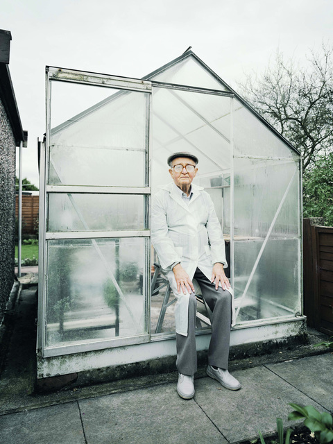 David Stewart, 'Greenhouse, great grandad and glycoma', 2009, Photography, Chromogenic Print, Wren London