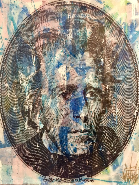 , 'Andrew Jackson,' 2018, World Trade Gallery