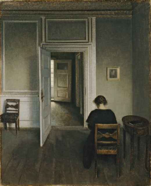 , 'Interiør, Strandgade 30,' 1906-1908, Statens Museum for Kunst