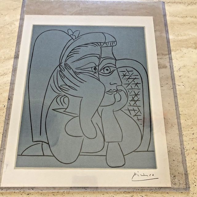 Pablo Picasso, 'Female Head With Supporting Arms', 1962, Leviton Fine Art