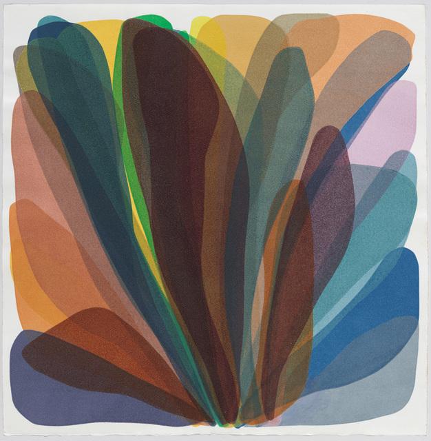 Laura Berman, 'Wonders Sea 26', 2019, Print, Monoprint on paper, Uprise Art