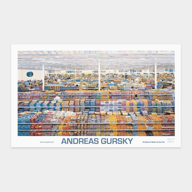 Andreas Gursky, '99 cent store poster', 1999, Artsnap